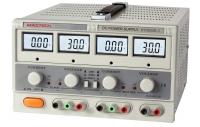 HY3003D-3 Блок питания лабораторный Mastech | 2 кан. 30 В/3 А,  канал 5 В/3 А